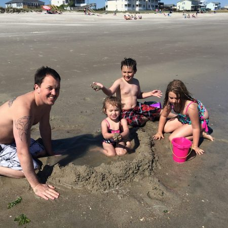 At-the-beach-with-Adams-nieces-and-nephew