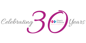 Celebrating 30 Years Logo